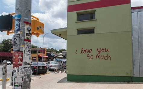 Movie Wall Murals i love you so much mural in austin at jo s coffee south