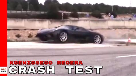 koenigsegg crash test koenigsegg regera crash test