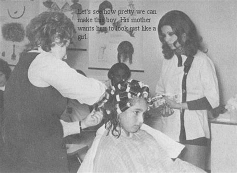 mothers feminizing sons at beauty salon sissy052 alice s beauty parlor mother dictated curlers