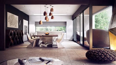 Modern Dining Room Modern Dining Room Interior Design Ideas