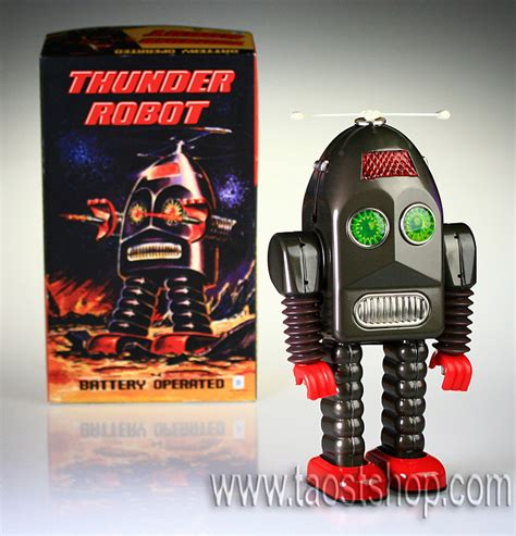 Ttr Robot thunder robot grey ttr36 china tin tin