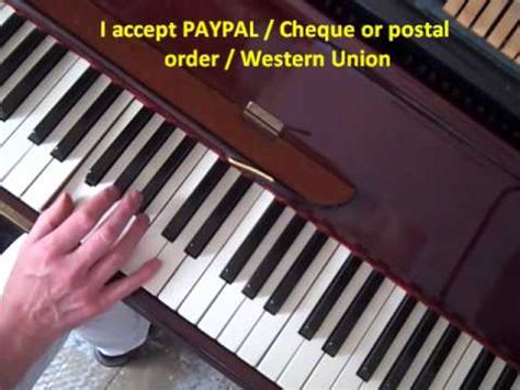 tutorial piano boogie woogie learn the best boogie woogie piano lesson youtube