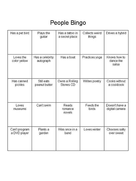 introduction bingo template day of school classroom introductions