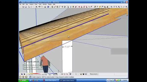 youtube rafter layout intersecting roof plane rafter calculations wmv youtube