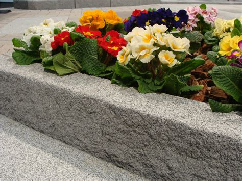 bordure per giardino pietra bordura per aiuole in calcestruzzo pietra m v b