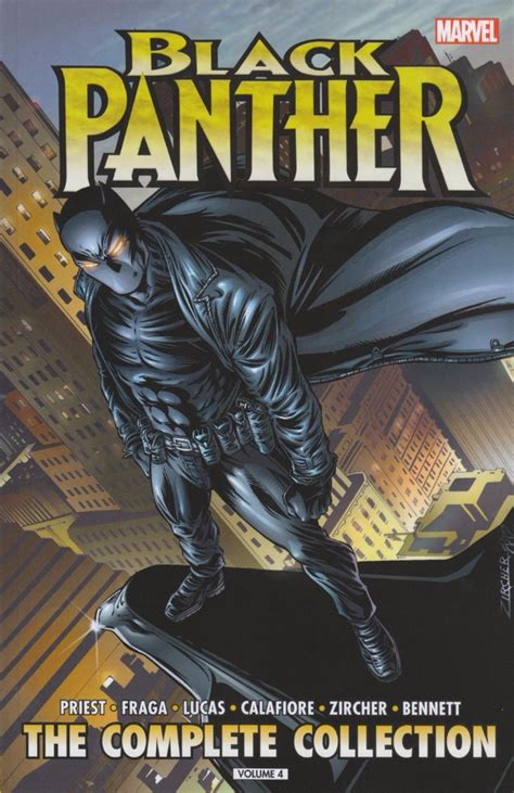 black panther by christopher 0785192670 black panther 1998 intc04 by christopher priest the complete collection volume 4