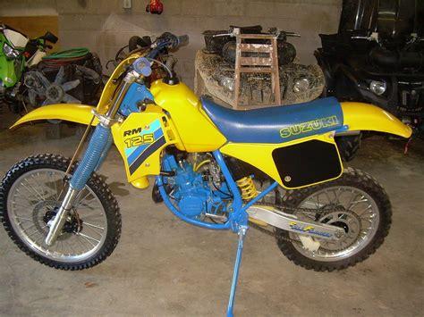 1986 Suzuki Rm 250 1986 Rm 125 Like New School Moto Motocross Forums