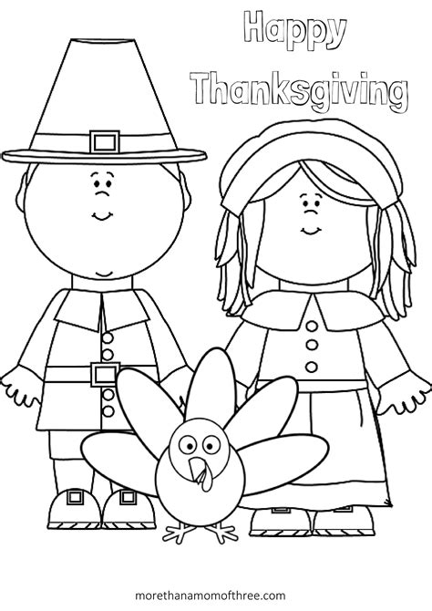 coloring page happy thanksgiving free thanksgiving coloring pages printables for kids