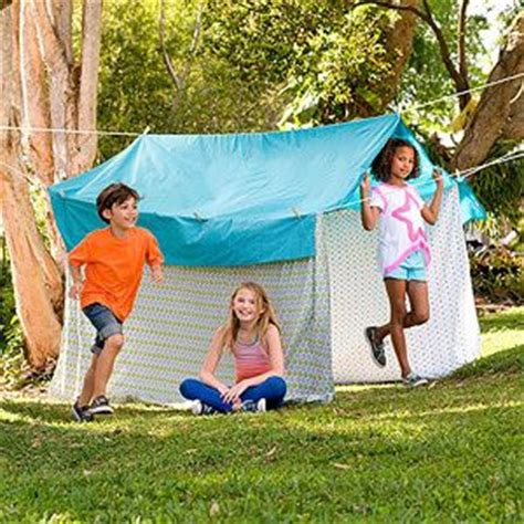 Backyard Summer For Adults 25 Best Ideas About Sheet Tent On Fort
