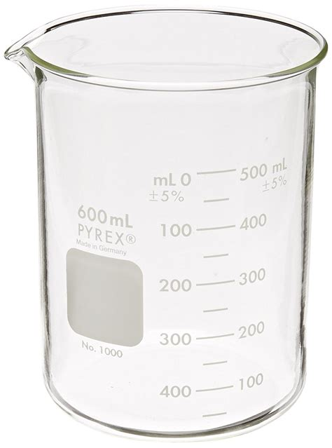 Beaker Glass 50ml Iwaki corning pyrex 1000 600 glass 600ml graduated low form griffin beaker 50ml ebay