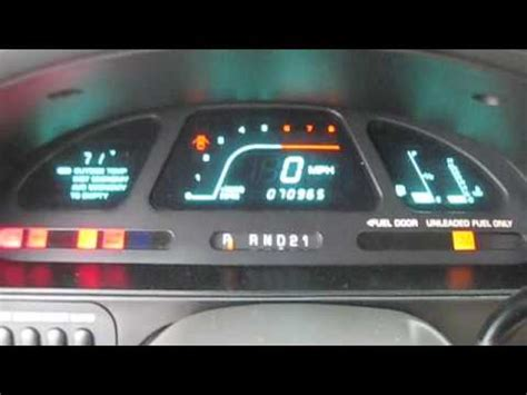 manual repair free 1995 mercury villager instrument cluster new dealership updates 1997 mercury villager ls youtube