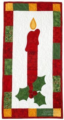 candlestick quilt pattern christmas candle quilt quilts sewing pinterest quilt