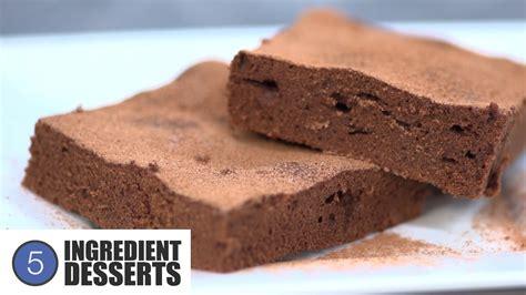 easy treats easy chocolate brownies 5 ingredient desserts