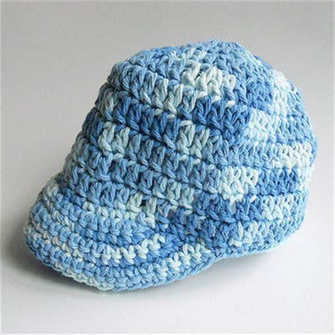crochet newborn baseball cap crochet patterns