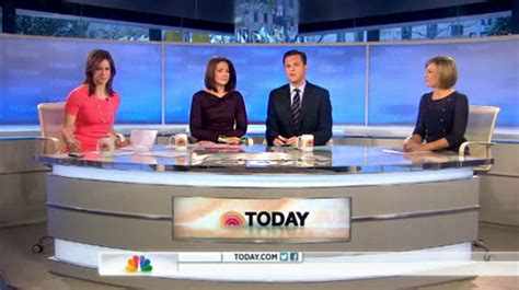 today show set today debuts new desk during weekend edition