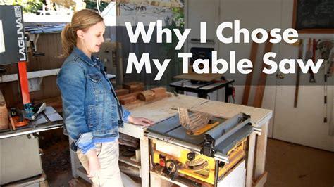 chose  dewalt table  shop update march