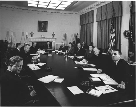 Jfk Cabinet by Ar6862 A President F Kennedy Meets With Cabinet