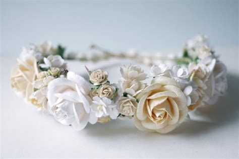 Handmade Flower Crown - handmade flower crowns handmade