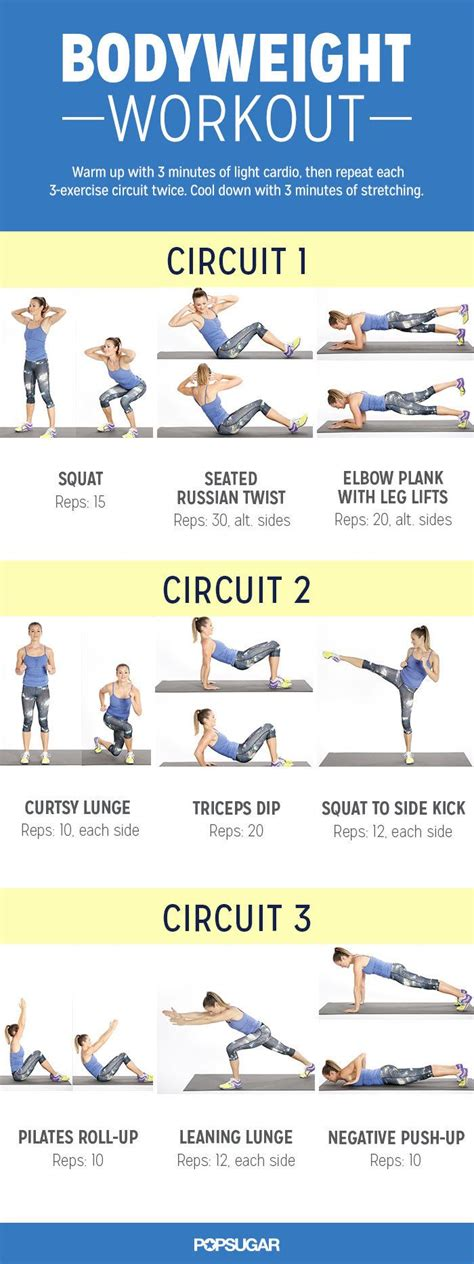 25 best ideas about weight circuit on
