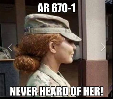 ar 670 1 female hair color 5 trials and tribulations of being female in the military