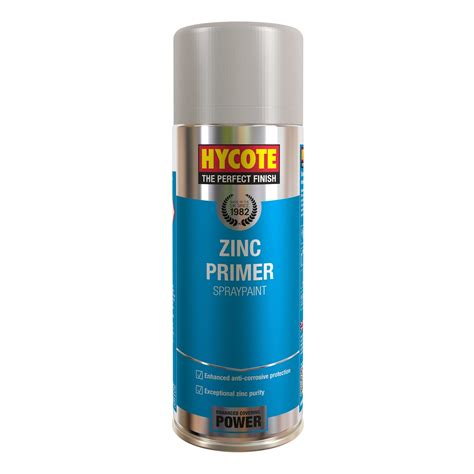 zinc spray paint hycote zinc primer 400ml 1 x aerosol spray paint