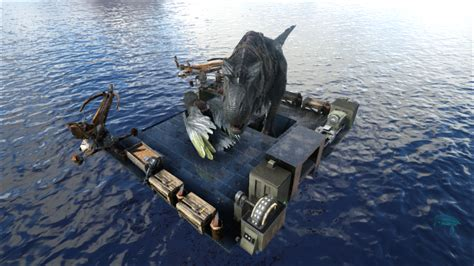ark motorboat base rafts of questions general discussion ark official