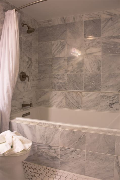 Tile Bathtub Shower Combo by Bath Shower Combo Inspiration Bathroom Enjoyable Gray