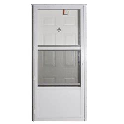 Mobile Home Combination Exterior Doors Elixir 9000 Exterior Vinyl Steel Combo Door W Door