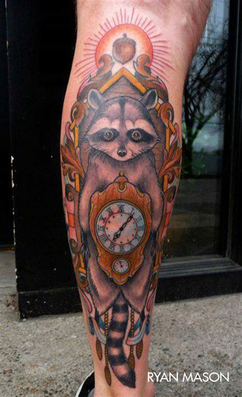 tribal raccoon tattoo 16 amazing raccoon tattoos