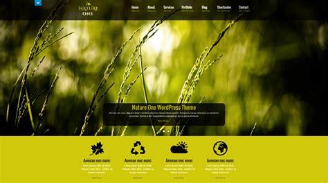 theme blog wordpress nature free wordpress theme nature one doteasy wordpress