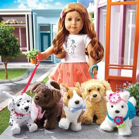 american doll puppy from american s page mag jly 61 walking some of the new dogs so