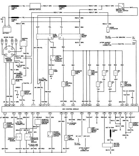1984 ford thunderbird wiring diagram 1984 wiring diagram and circuit schematic