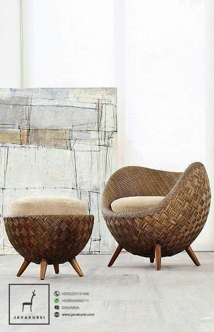 Kursi Rotan Satuan kursi stool santai telur rotan jual furniture kursi jepara terbaru jual furniture kursi