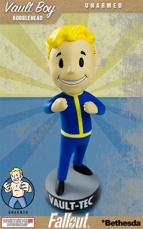 bobblehead unarmed fallout vault boy unarmed 5 quot bobble at mighty ape