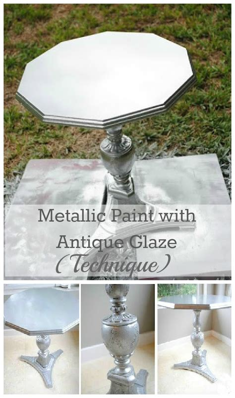 Metallic Paint For Furniture by Craftionary