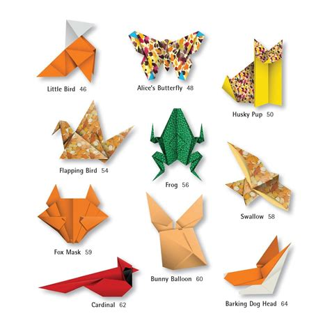 How To Make An Origami Animal - origami animals kit tuttle publishing