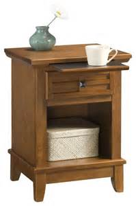 Mission nightstand cottage oak transitional nightstands and bedside