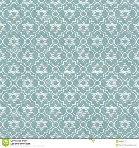 background design repeat blue and white star of david repeat pattern background