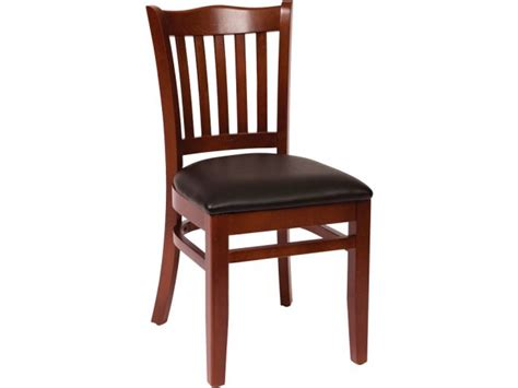 Wooden Library Chair by Princeton Wooden Library Chair Vinyl Seat Lwc 7218v