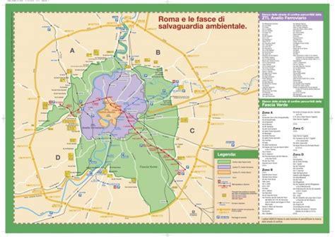 roma mobilità ztl anello ferroviario di roma fascia verde ztl divieti e