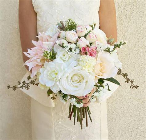 Wedding Silk Artificial Flower Arrangement by Bridal Bouquets Bridal Bouquet Wedding Bouquets Wedding