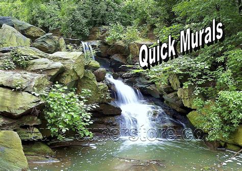 waterfall wall murals mountain waterfall wall mural