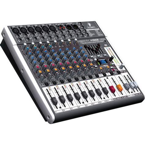 Mixer Audio Behringer Xenyx X1222usb behringer xenyx x1222usb 12 input usb audio mixer x1222usb b h