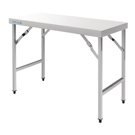 Folding Stainless Steel Table Vogue Cb906 Stainless Steel Folding Tables Cas
