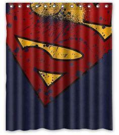 superman bathroom accessory set trash can soap holder by