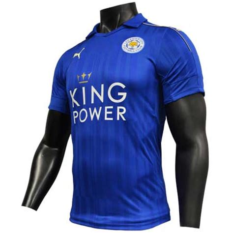 Leicester Home Jersey leicester city home 2016 17 replica jersey