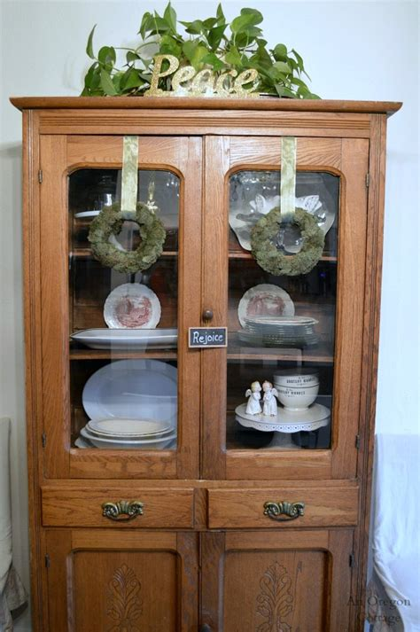 Decorating China Cabinet by Decorating Antique China Cabinet