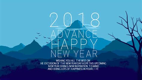 wishing u happy new year advance happy new year 2018 wishes quotes images happy new year 2019 sms greetings wishes