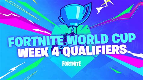 fortnite world cup week  qualifiers info  results