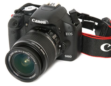 canon eos 500d digital slr review trusted reviews